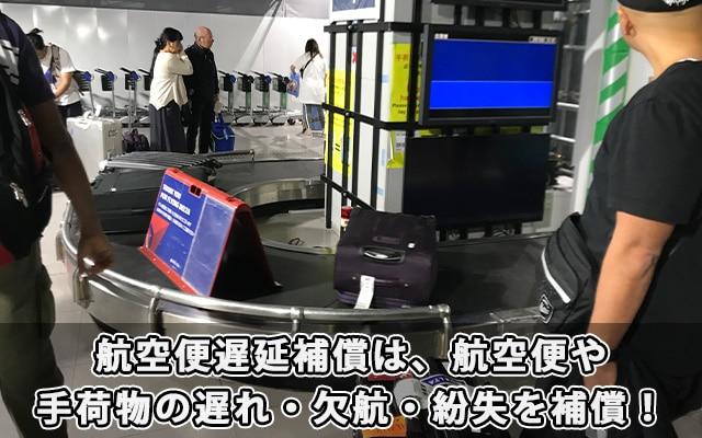 航空便遅延補償は、航空便や手荷物の遅れ・欠航・紛失による損害を補償!
